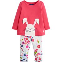 Baby Joule Olivia Two Piece T-shirt And Leggings Set, Pink