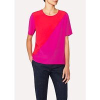 PS Paul Smith Colour Block Top, Pink