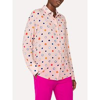 PS Paul Smith Scribble Spot Print Shirt, Pink