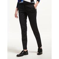 Marella Slim Leg Trousers, Black