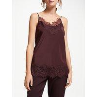 Modern Rarity Silk Lace Cami Top