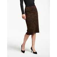 Weekend MaxMara Marzia Zebra Print Skirt, Brown/Multi