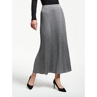 Weekend MaxMara Renna Pleated Maxi Skirt, Grey