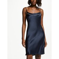 John Lewis & Partners Silk Piped Chemise