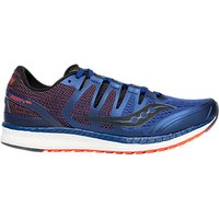 Saucony Liberty ISO Men's Running Shoes, Blue/Black/Vizired