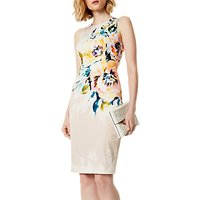 Karen Millen Floral Pencil Dress, Multi