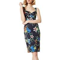 Karen Millen Fresh Floral Dress, Multi