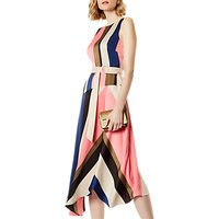 Karen Millen Abstract Stripe Dress, Multi