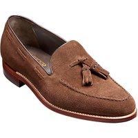 Barker Litchfield Tassel Loafers, Castagnia Suede