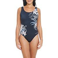Zoggs Soft Nature Scoopback Swimsuit, Black