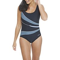Zoggs Casuarina Scoopback Swimsuit, Black