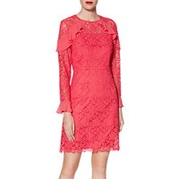 Gina Bacconi Shola Dress, Flamingo Pink