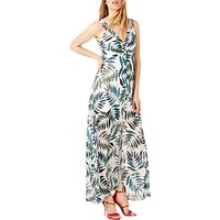 Damsel in a Dress Nadia Snake Palm Maxi Dress, Multi