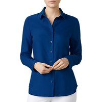 Pure Collection Linen Shirt, French Navy