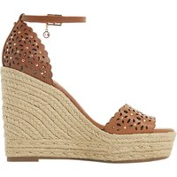 Dune Kamilea Cut-Out Stud Wedged High Heel Sandals