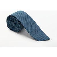 Calvin Klein Pindot Silk Tie, Teal