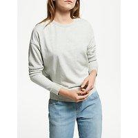 Maison Scotch Burnout Sweatshirt, Grey Melange