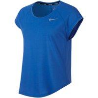 Nike Tailwind Short Sleeve Running Top, Signal Blue