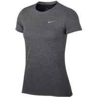 Nike Medalist Women's Short Sleeve Running Top, Gunsmoke/Black