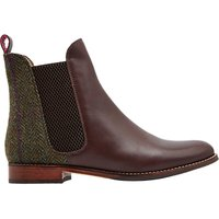 Joules Westbourne Leather Chelsea Boots, Brown
