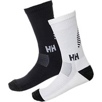 Helly Hansen Lifa Merino 2-pack Socks, Ebony/white