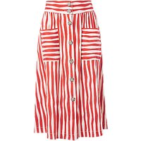 L.K.Bennett Annelin Skirt, Red