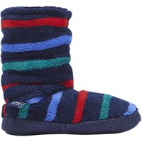 Baby Joule Striped Padabout Ankle Slippers, Multi Stripe
