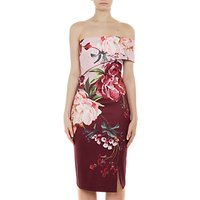 Ted Baker Irlina Serenity Print Dress, Purple