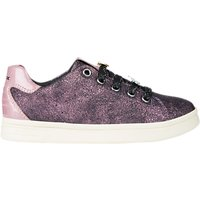 Geox Children's J DJ Rock Laced Shoes, Pink