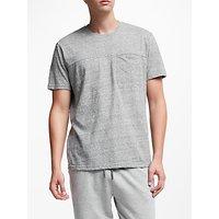 John Lewis & Partners Slub Cotton Pocket Lounge T-Shirt