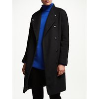 John Lewis & Partners Funnel Wrap Coat
