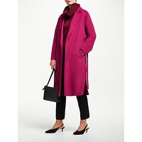 John Lewis & Partners Double Faced Belted Collar Coat