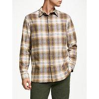 John Lewis & Partners Eddie Brushed Check Shirt
