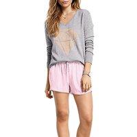 hush Mini Shorts, Pink