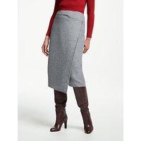 John Lewis & Partners Wool Wrap Skirt