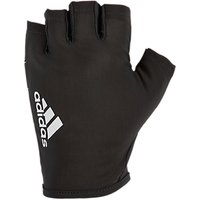 Adidas Fingerless Training Gloves, Black