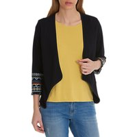 Betty Barclay Embroidered Cardigan, Navy