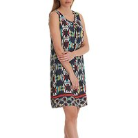 Betty Barclay Graphic Print Sleeveless Dress, Multi