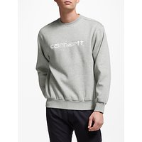 Carhartt WIP Vintage Logo Sweatshirt, Grey Heather