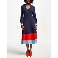 Boden Magnolia Jersey Dress, Navy