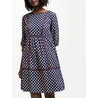 Boden Luna Dress, Navy/Multi