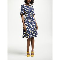 Boden Alexis Jersey Dress, Navy