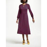 Boden Eliza Jersey Dress, Navy Bud