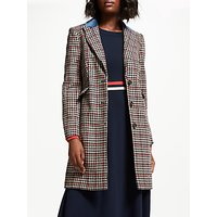 Boden Eastbourne Coat, Dogstooth