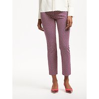 Boden Hampshire 7/8 Trousers, Wine