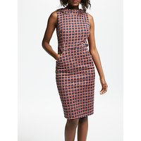 Boden Martha Dress, Conker Trellis