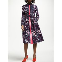 Boden Pippa Shirt Dress, Navy Meadow