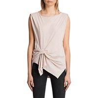 AllSaints Rivi Vest Top, Cami Pink