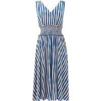 L.K.Bennett Ambery Stripe Dress, Blue