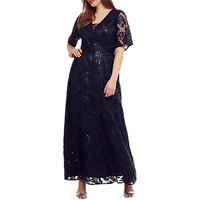 Studio 8 Persephone Sequin Maxi Dress, Navy